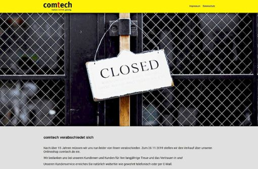 Comtech ist nicht mehr zu retten