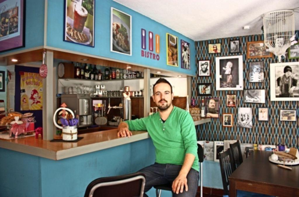 """Toni Schreiner sucht einen neuen Ort für sein Lokal """"Sideways"""". Foto: Annina Baur"""