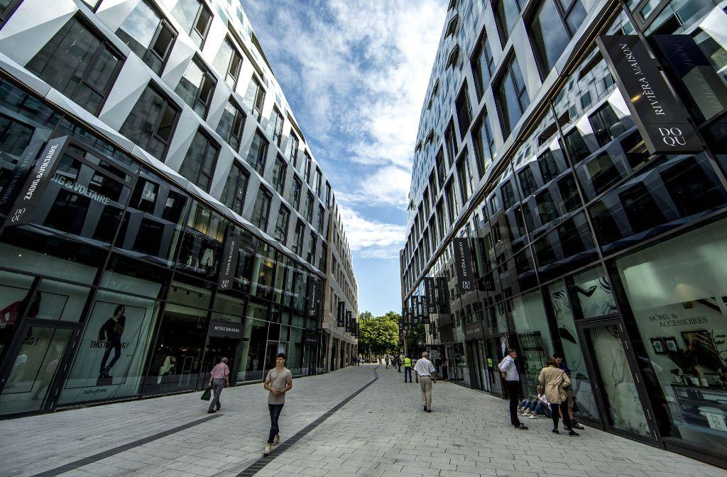 Die Gestaltung des Dorotheen-Quartiers spaltet die Meinungen vieler Stuttgarter. Foto: Lichtgut/Leif Piechowski