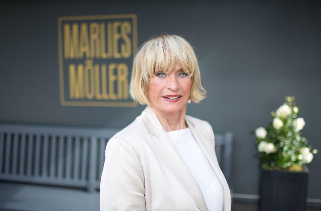 Marlies Möller ist Promi-Stylistin und gehört laut eigener Aussage zu den besten Friseuren in Hamburg. Foto: privat