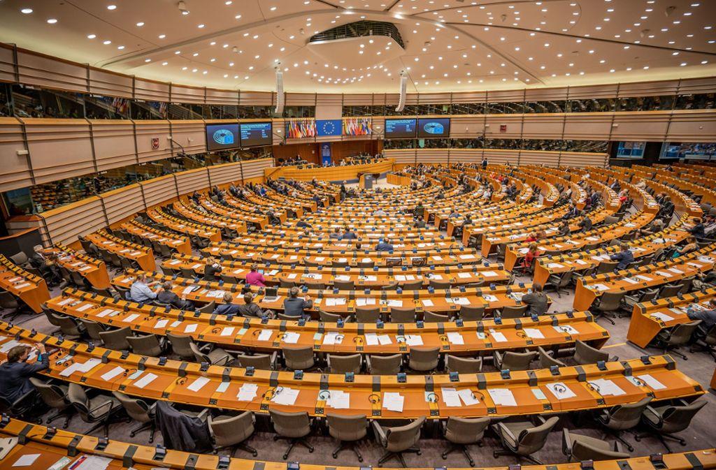 Der Brexit-Vertrag wurde im Europaparlament gebilligt. Foto: dpa/Michael Kappeler