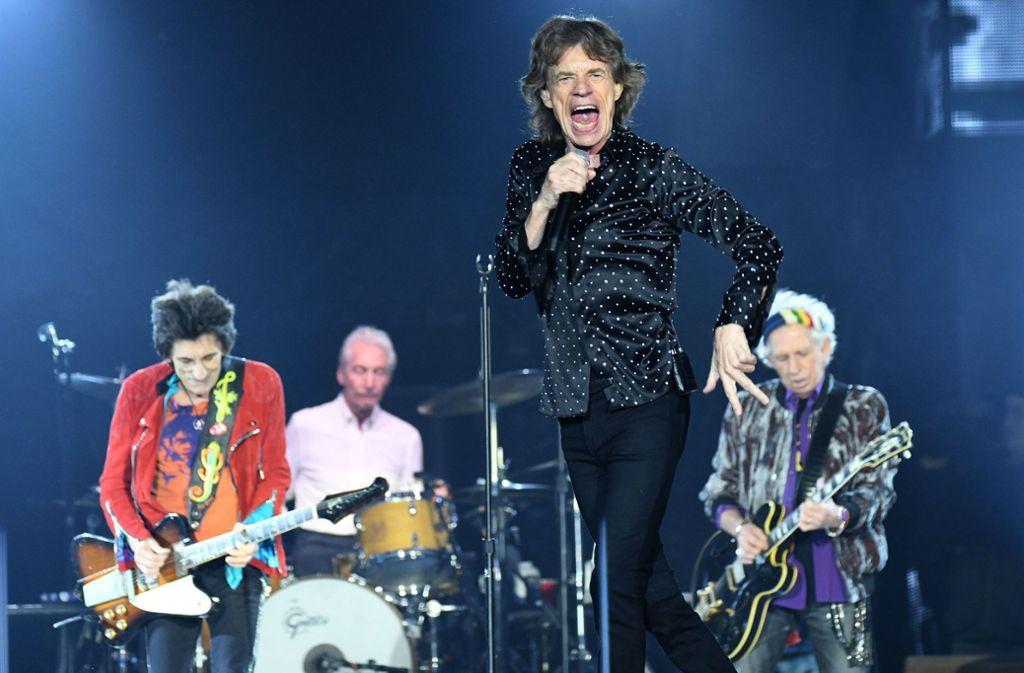 Die Rolling Stones kommen nach Stuttgart. Foto: dpa