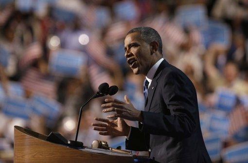 Applaus für Obama
