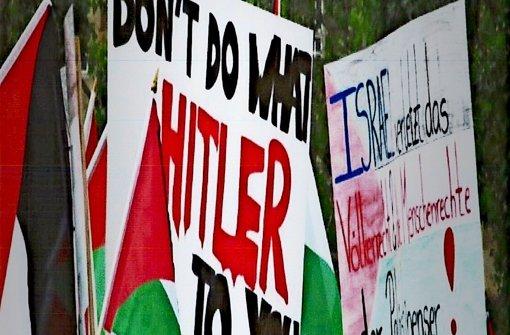 Zoff um antisemitische Parolen