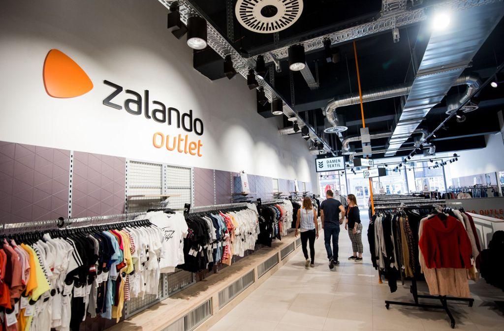 Wenn das Zalando-Outlet in der Stuttgarter Innenstadt Ende Juni eröffnet, gelten Sonderregeln. Foto: dpa