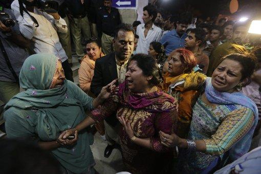 Der Anschlag in Lahore hat Dutzende Menschenleben gefordert. Foto: dpa