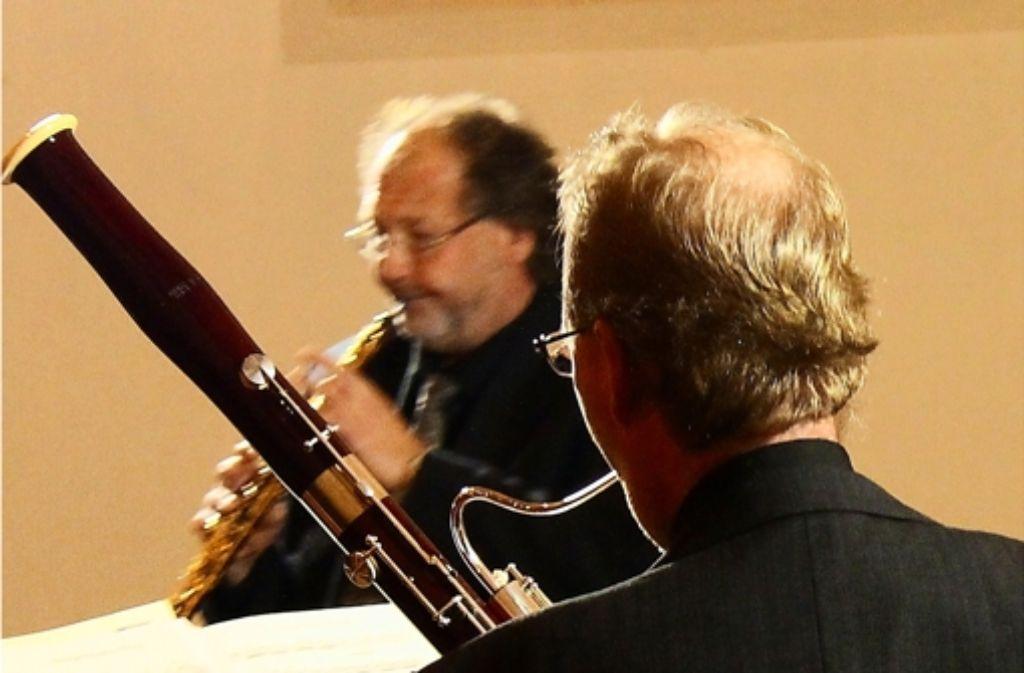 Das Ensemble Faboé begeisterte trotz des erkrankten Fagottisten die Zuhörer bei der Kammermusik in der Haigstkirche. Foto: Martin Bernklau