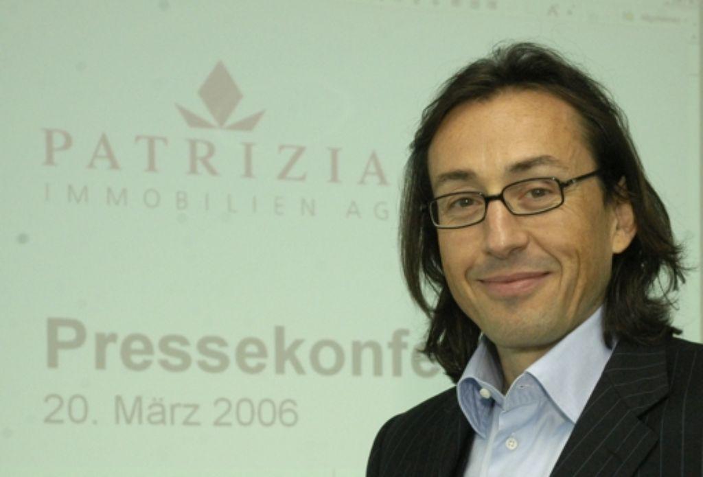 Gründer und Vorstandsvorsitzende der Patrizia Immobilien AG, Wolfgang Egger Foto: AP