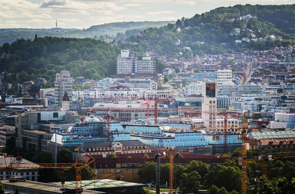 Kleine Bauflächen für  insgesamt 585 Wohnungen hat die Stadtverwaltung in Stuttgart bereits ausgeguckt. Foto: Lichtgut/Max Kovalenko