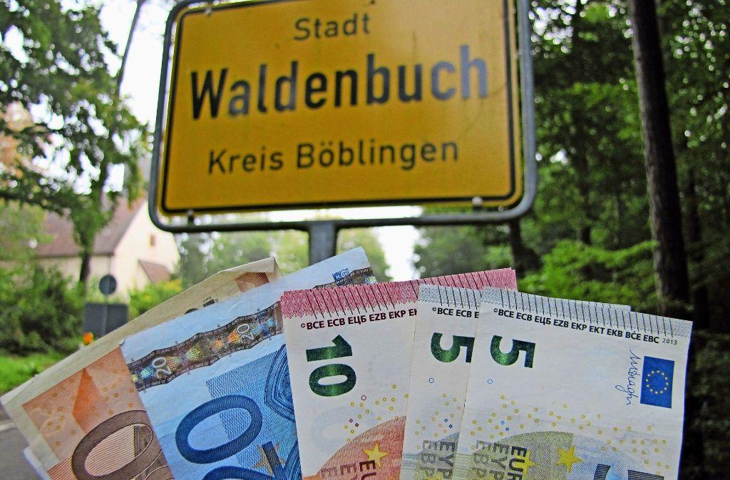 Das mittelfristige Investitionsprogramm in Waldenbuch sieht Investitionen von 18 Millionen Euro vor, nur neun Millionen stehen aber dafür zur Verfügung. Foto: Claudia Barner