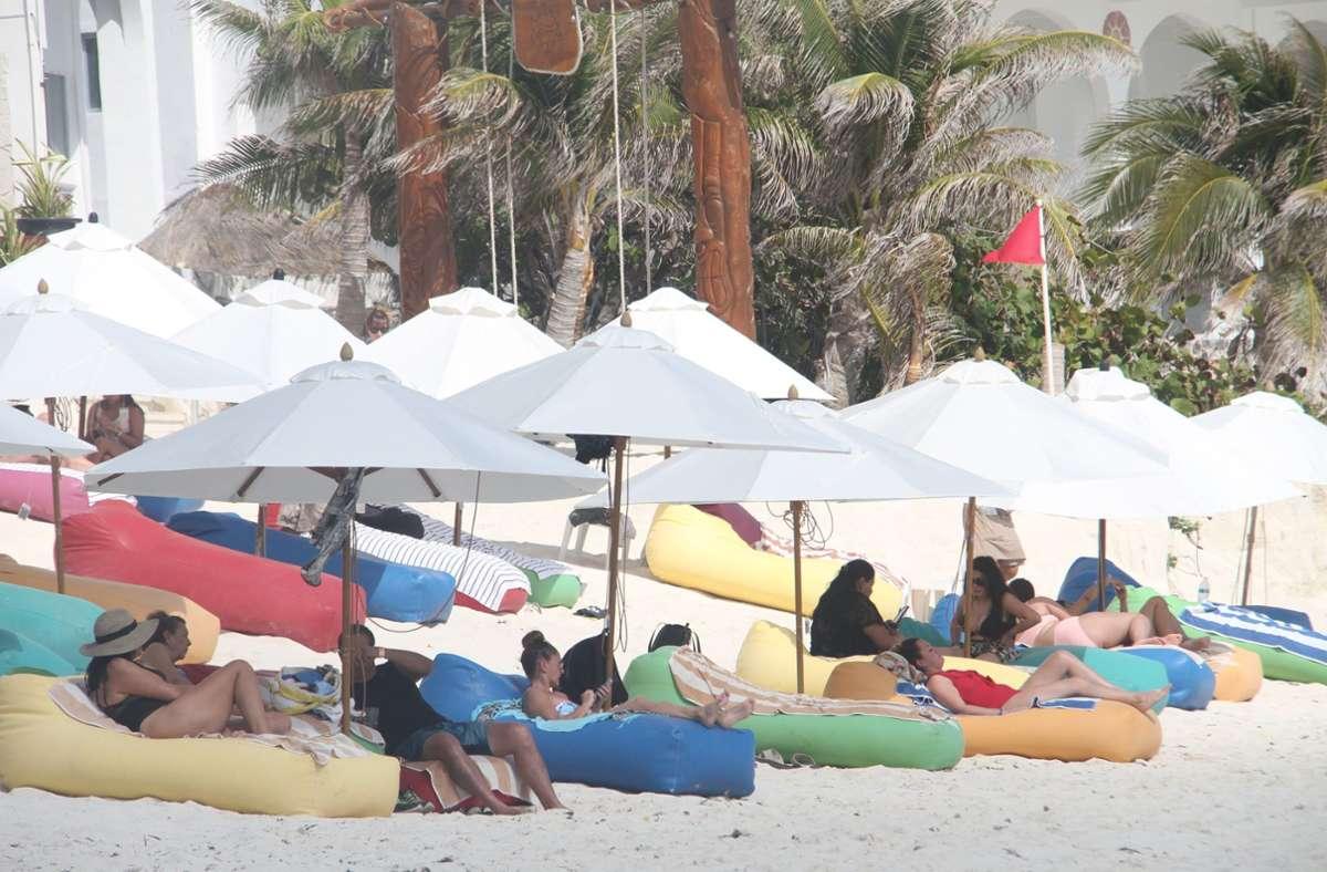 In Cancun gibt es Sonne satt – und auf Wunsch gefälschte Corona-Testergebnisse. Foto: dpa/Niyi Fote