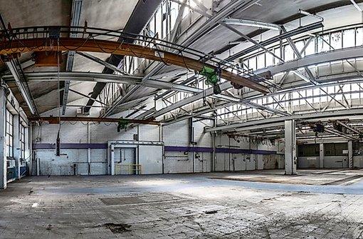Fabrikhallen sollen  zum  Künstlerdorf werden