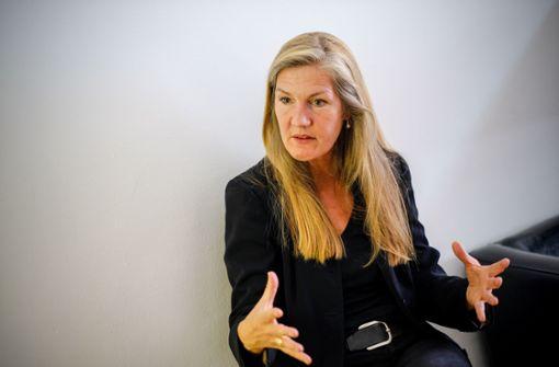 Veronika Kienzle sieht sich bereits im Wahlkampf