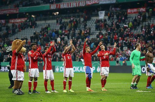 FC Bayern nimmt Kurs auf 19. Pokaltitel