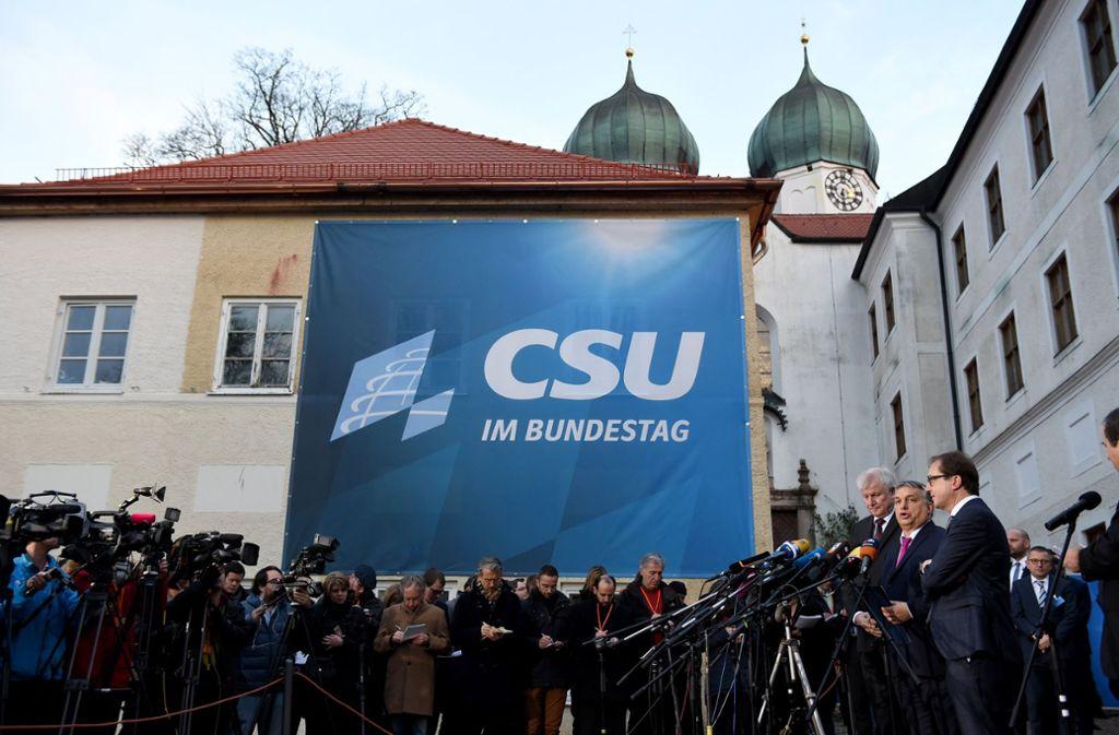 Nach der Wahlniederlage versucht die CSU sich neu zu sortieren. Foto: dpa