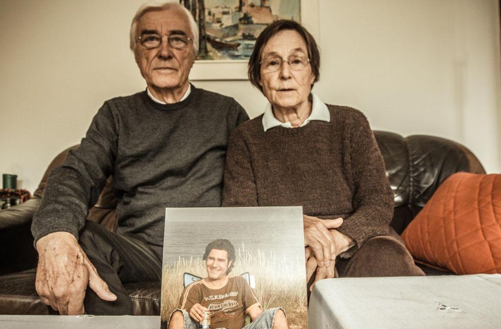 Die Eltern Karl Wilhelm und Ines Klemm trauern um ihren Sohn. Foto: Lichtgut/Leif Piechowski