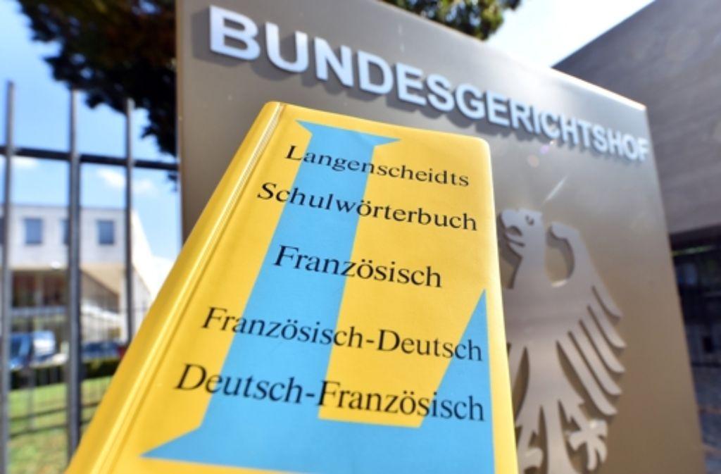 Farbe als Markenzeichen: Langenscheidt wehrt sich gegen konkurrierendes Gelb. Foto: dpa