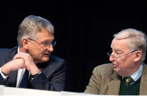 Meuthen will Entscheidung – Gauland dagegen