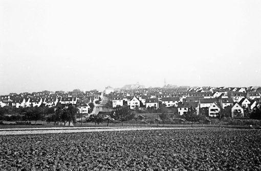 Degerloch als einstiger Luftkurort im Süden der Stadt