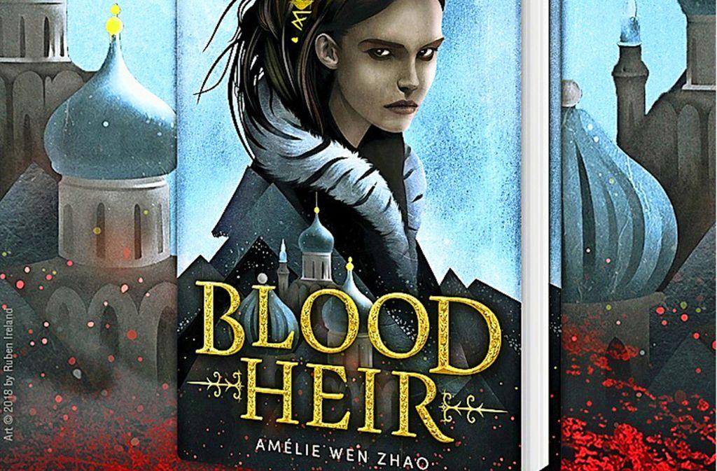 """Nach Rassimusvorwürfen hat die US-Autorin Amélie Wen Zhao ihren ersten Fantasyroman """"Blood Heir"""" noch vor Erscheinen zurückgezogen. Foto: Delacorte"""