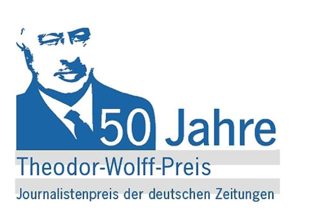 Der Theodor-Wolff-Preis wird für herausragende Texte verliehen. Foto: BDZV