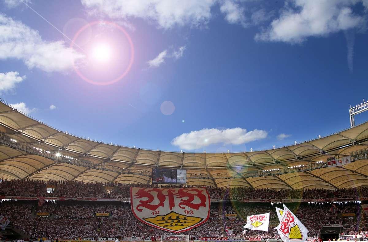 Kann der VfB Stuttgart den Auftakt in der Bundesliga mit seinen Fans im Stadion feiern? Foto: Pressefoto Baumann/Alexander Keppler