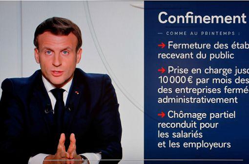 Neuer Corona-Lockdown in Frankreich