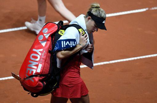 Angelique Kerber verpasst Viertelfinal-Einzug