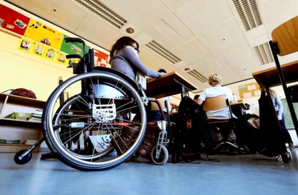 Das große Ziel: Kinder mit Behinderungen sollen an allen Schulen lernen dürfen. Foto: dpa