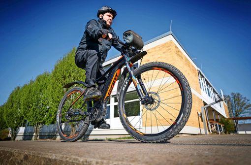 Täglich auf zwei Rädern zum Arbeitsplatz