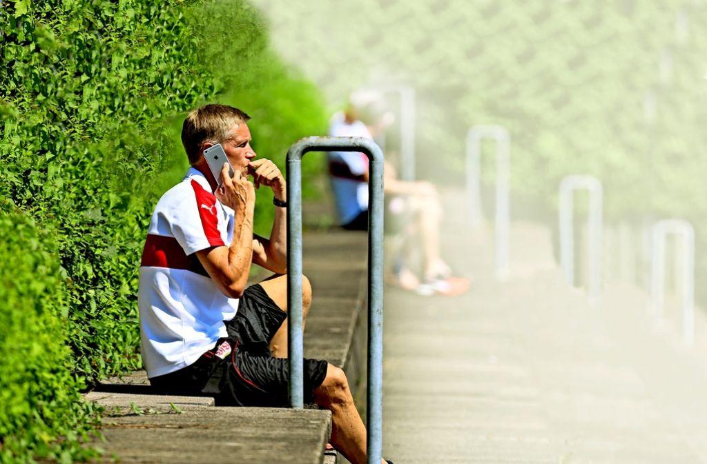 Jan Schindelmeiser hat in den vergangenen Tagen viel telefoniert. Foto: Pressefoto Baumann
