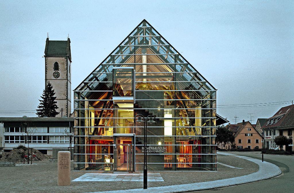 Der Museumsbau in Mengen  steht  leer. Foto: Barbara Schwager/Architekten Lanz, Gruber, Schwager