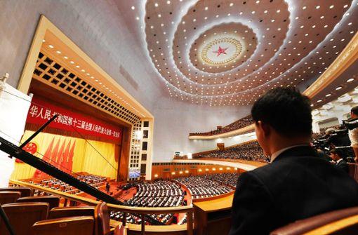 China verfolgt ehrgeizige Wirtschaftsziele