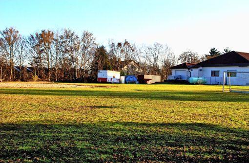 Keine Wohnmobil-Stellplätze beim TSV-Vereinsheim