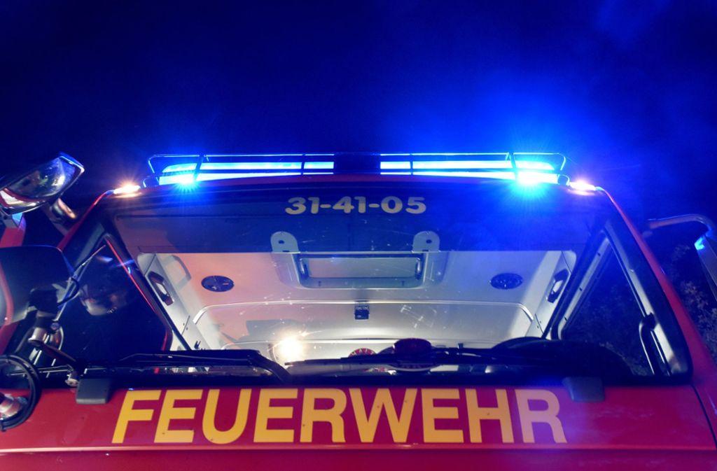 Die Feuerwehr war mit einem Großaufgebot im Einsatz (Symbolbild). Foto: dpa