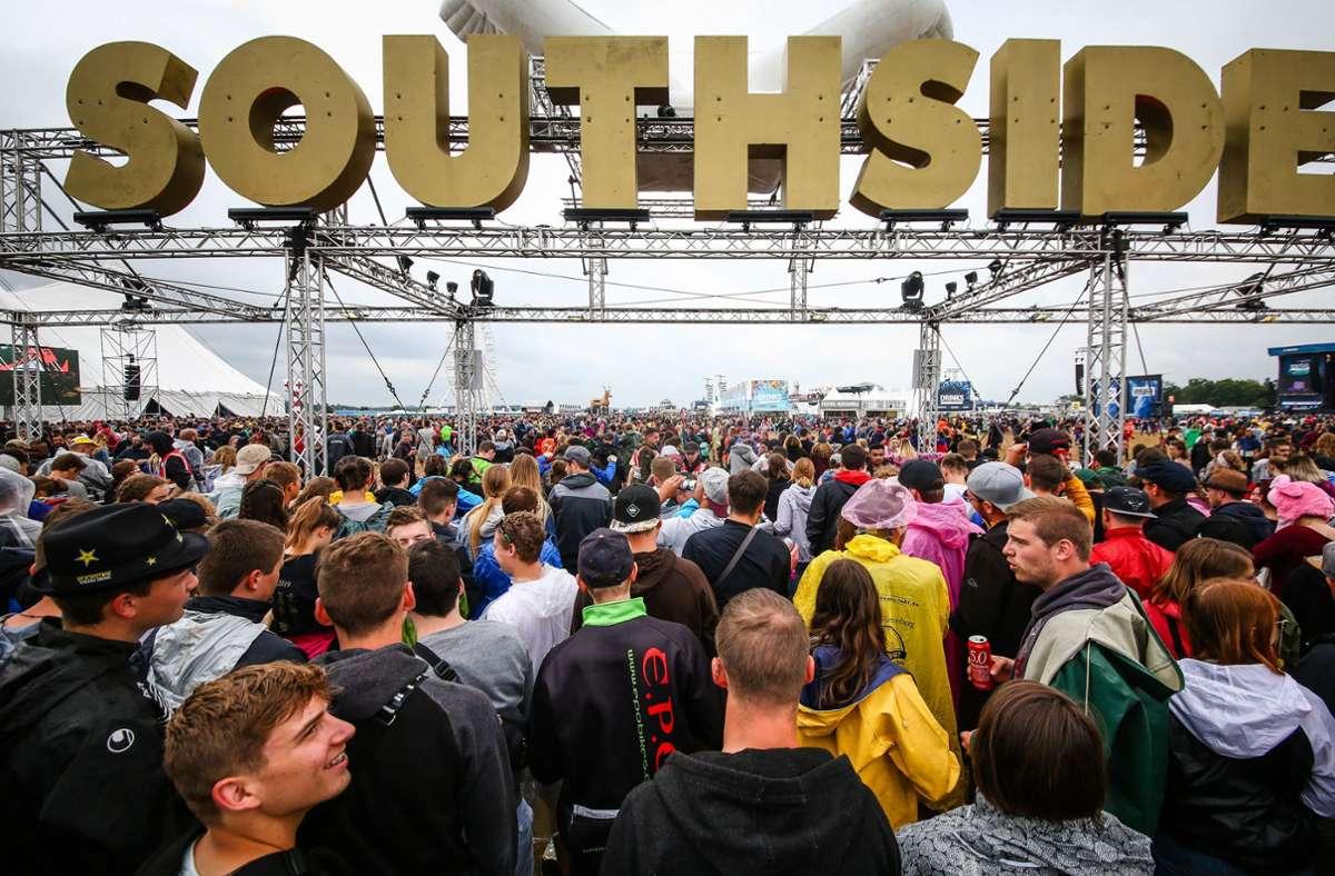 Das Southside-Festival fällt aus. Foto: dpa/Christoph Schmidt