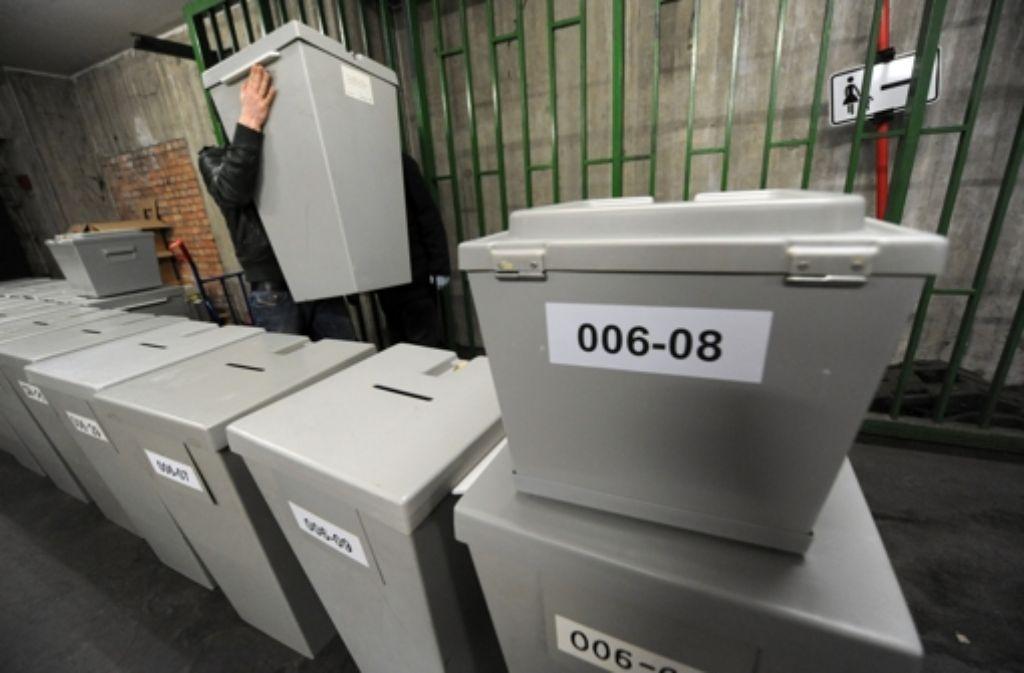 Das Statistische Amt der Stadt hat das Abstimmungsverhalten von 23 000 Bürgern nach Alter und Geschlecht untersucht. Foto: dpa