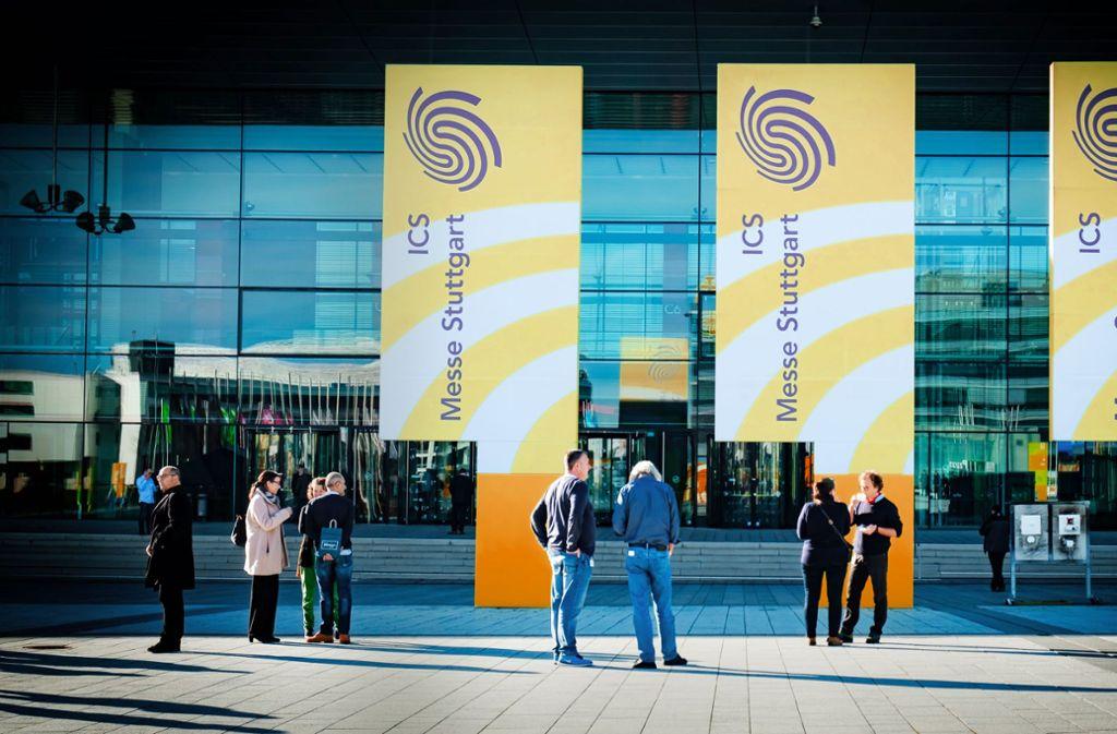 Die Messe Stuttgart war offenbar Ziel einer Hackerattacke. Foto: Lichtgut/Achim Zweygarth