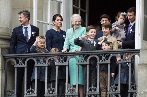 Royales Defilée zum 75. Geburtstag