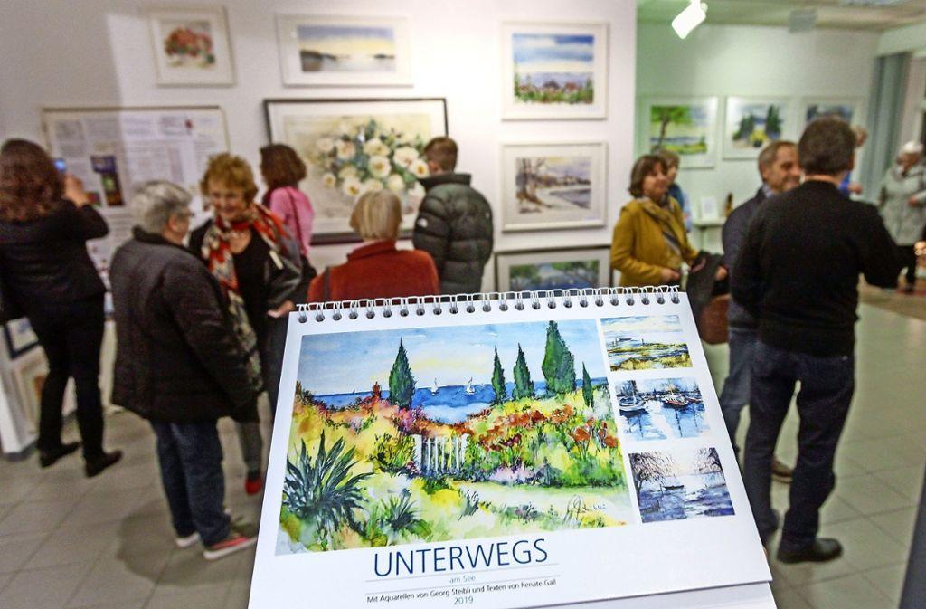 Steiblis Kalender bringen den Menschen schöne Landschaften nach Hause. Foto: factum/Bach