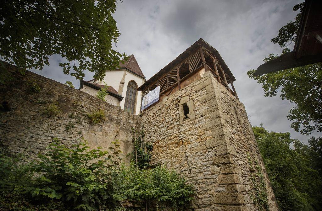 Im Karzerturm soll sich manch grauslige Szene abgespielt haben. Foto: Gottfried Stoppel