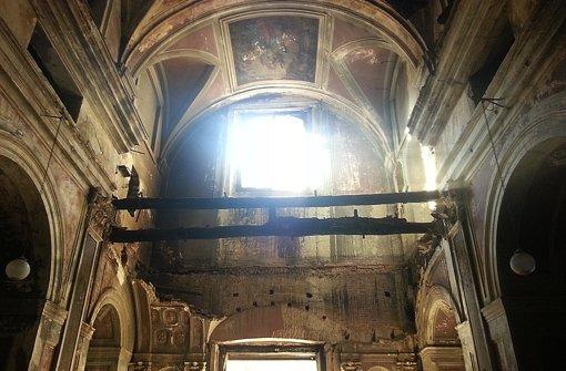 Neapels Kirchen bröseln vor sich hin