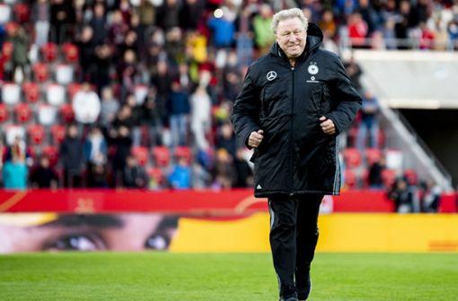 Horst Hrubesch geht mit Nullnummer in die Trainer-Rente