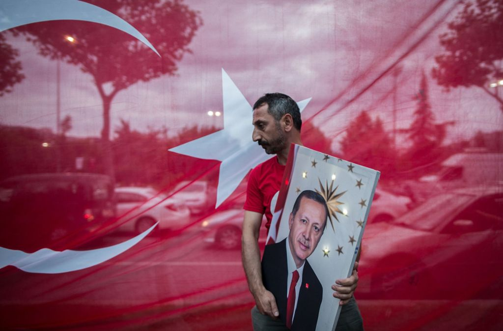 Recep Tayyip Erdogan hat sein Ziel bei der Wahl in der Türkei erreicht. Foto: dpa