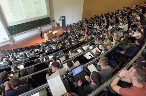 Steigende Zahl von Studenten aus Nicht-EU-Ländern