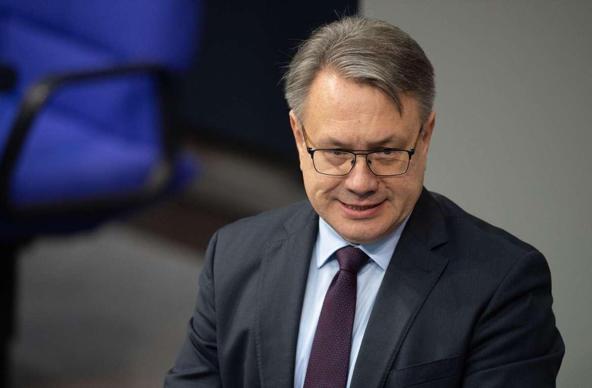 Georg Nüßlein will nicht mehr kandidieren. Foto: dpa/Soeren Stache