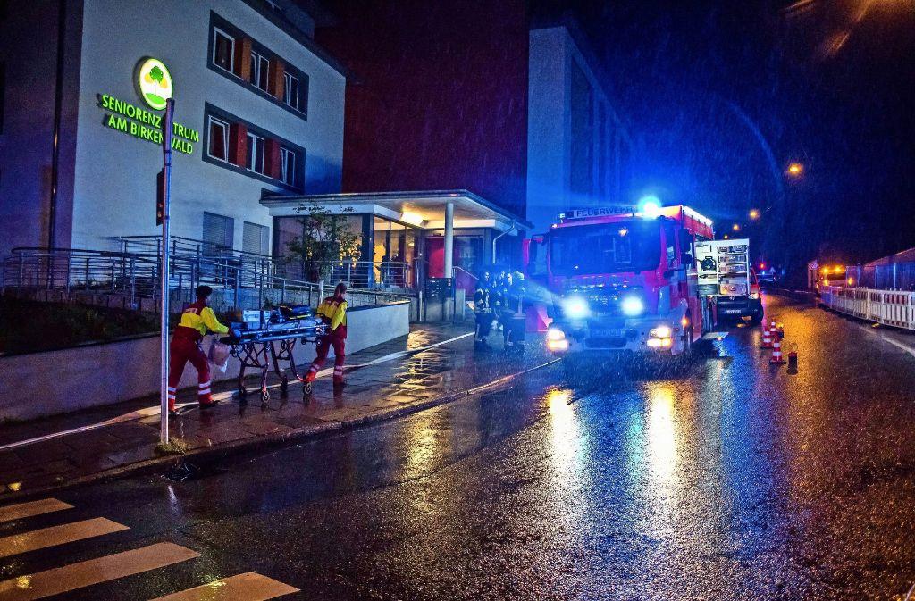 Die Rauchmeldeanlage in diesem Seniorenzentrum im Stuttgarter Norden hat rechtzeitig Alarm ausgelöst und dadurch Schlimmeres verhindert. Foto: SDMG