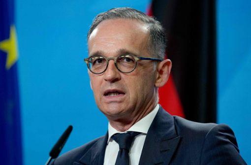 Heiko Maas fordert Sanktionen gegen Airlines