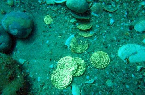 100 Jahre alter Goldschatz entdeckt