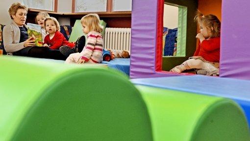 Zu den Schwerpunkten der  bisherigen wie auch der künftigen Arbeit des Jugendamtsleiters gehört  der Ausbau der Kinderbetreuung in der Stadt. Foto: dpa